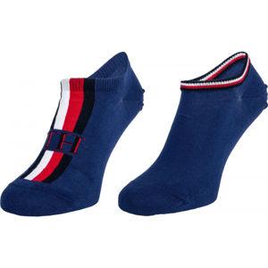 Tommy Hilfiger MEN SNEAKER 2P ICONIC STRIPE  39 - 42 - Pánské ponožky