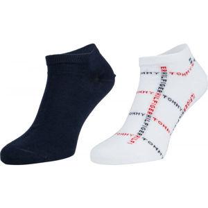 Tommy Hilfiger MEN SNEAKER 2P GRID  39/42 - Pánské ponožky