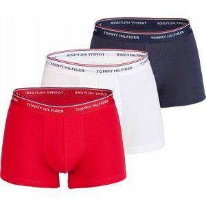 Tommy Hilfiger TRUNK 3 PACK PREMIUM ESSENTIALS bílá M - Pánské boxerky