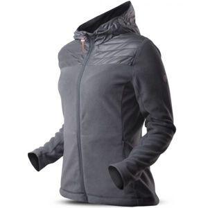 TRIMM ROTTA tmavě šedá L - Dámská fleecová bunda