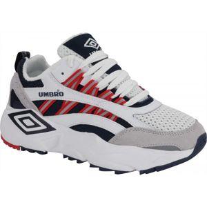 Umbro NEPTUNE bílá 8 - Pánská volnočasová obuv
