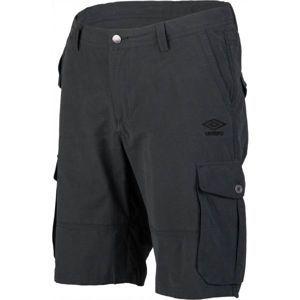 Umbro PETE černá XL - Pánské šortky