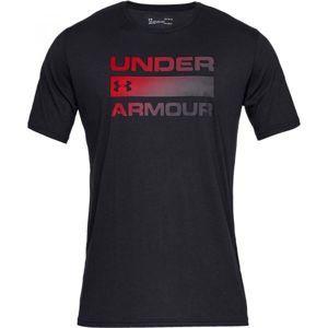 Under Armour UA TEAM ISSUE WORDMARK SS - Pánské triko