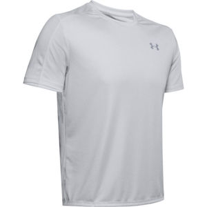 Under Armour SPEED STRIDE SHORTSLEEVE šedá S - Pánské triko
