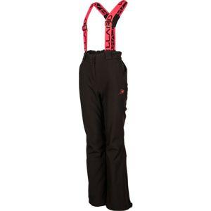 Willard ELOMA černá L - Dámské softshellové kalhoty