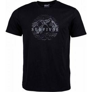 Willard JELY černá XXXL - Pánské triko