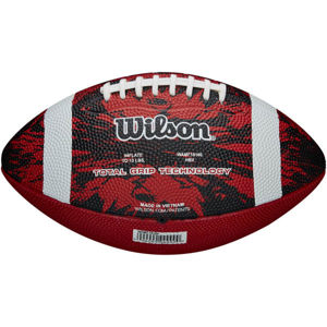 Wilson DEEP THREAT RED JR  NS - Míč na americký fotbal