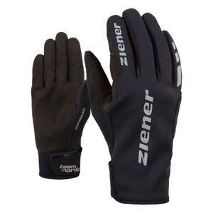 Ziener URS GWS BLACK černá 5 - Běžecké rukavice